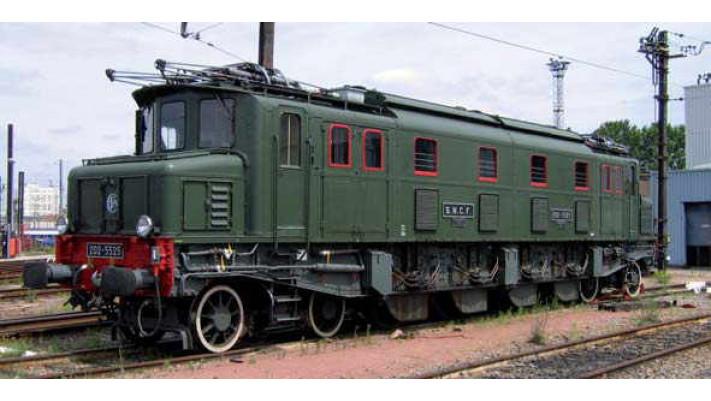 Locomotive électrique 2D2 5516   Musée de Mulhouse   SNCF #