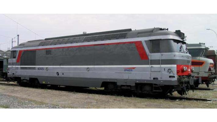 Locomotive Diesel BB 67554 livrée MULTI-SERVICES - SNCF ##
