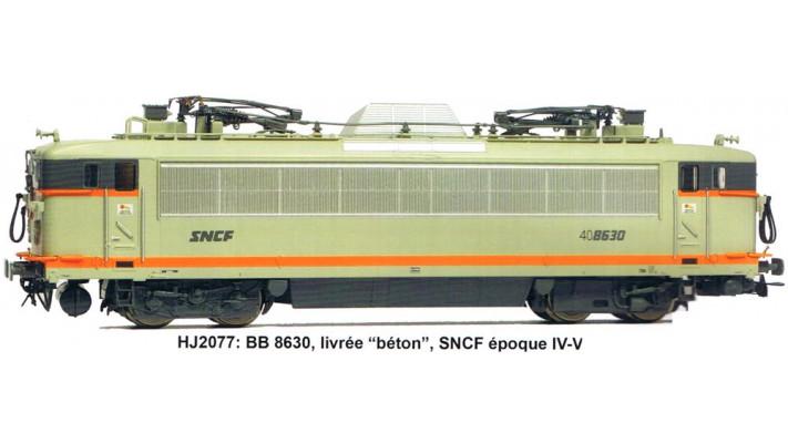 Locomotive électrique BB 25600 verte, longue, époque IV #