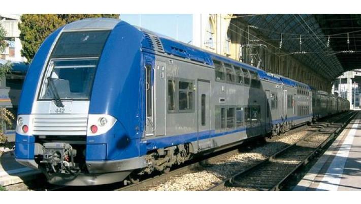 Autorail Z 24500 3 caisses - Livrée TER