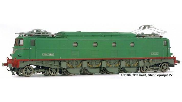 Locomotive électrique 2D2 5423 - SNCF, version modernisée, époque IV
