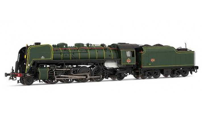 141 R 460 - tender charbon - dépôt de Thouars