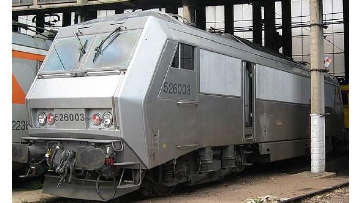 Locomotive électrique BB 26003 Livrée   FANTÔME   SNCF