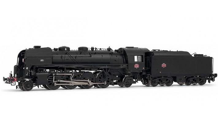 141 R 1257 - tender 9,5 M3, dépôt de Vénissieux AC