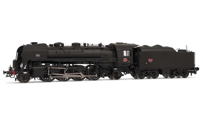 141 R 307 - tender charbon, dépôt de Nevers DC sonorisée #