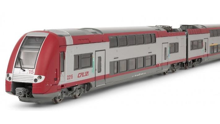 Locomotive électrique CFL, s  rie 2200, 3 caisses