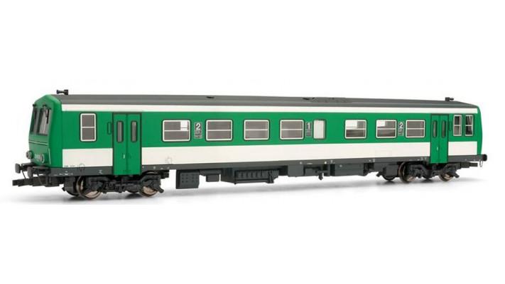 Autorail X2200, livrée vert et blanc