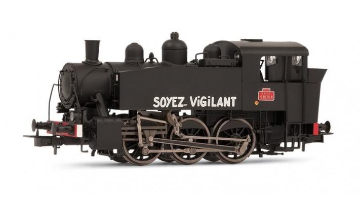 Locomotive à vapeur 030 TU 4, dépôt de Chaumont #