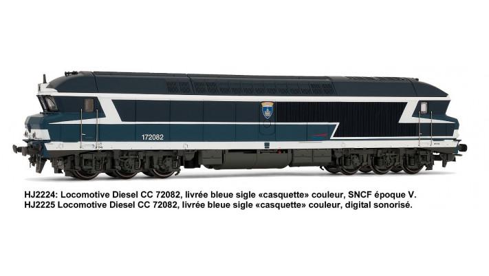 Locomotive Diesel CC72082