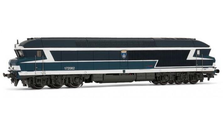 Locomotive Diesel CC72082 SONORISEE