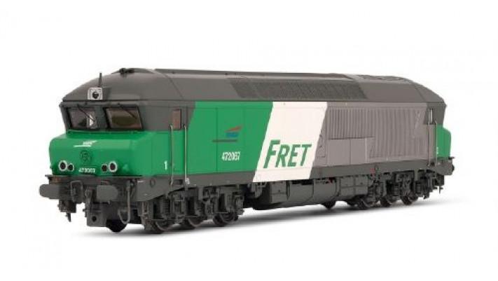 Locomotive Diesel CC72067 livrée Fret SONORISEE