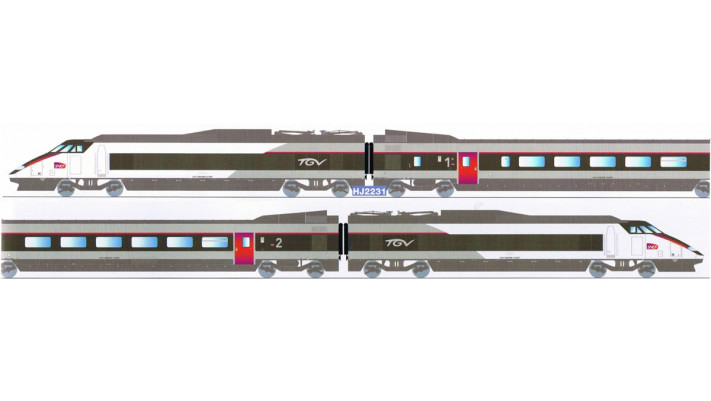 Coffret TGV Sud Est #