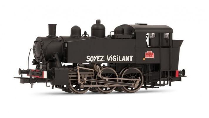 Locomotive à vapeur 030 TU 4, dépôt de Chaumont Digital sonorisée #