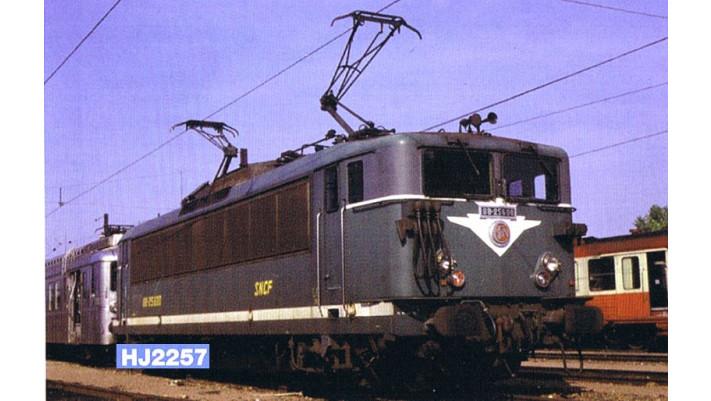Locomotive électrique BB 25500, cabines longues, livrée verte #