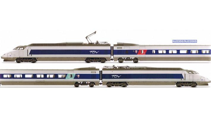 TGV Sud-Est livrée BLEUE Digital soUND