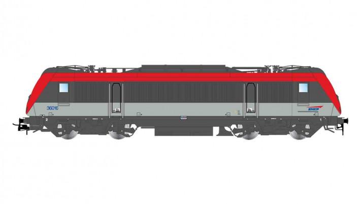 SNCF, BB 36031, green livery, original, ep. V, with DCC Sound Decoder
