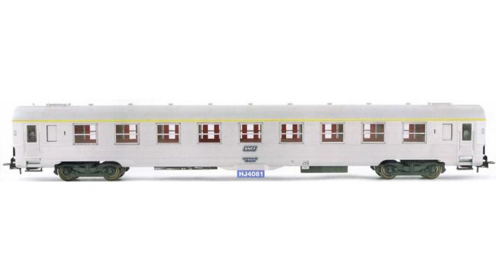 Voiture DEV inox de 1ère classe époque IV, SNCF #