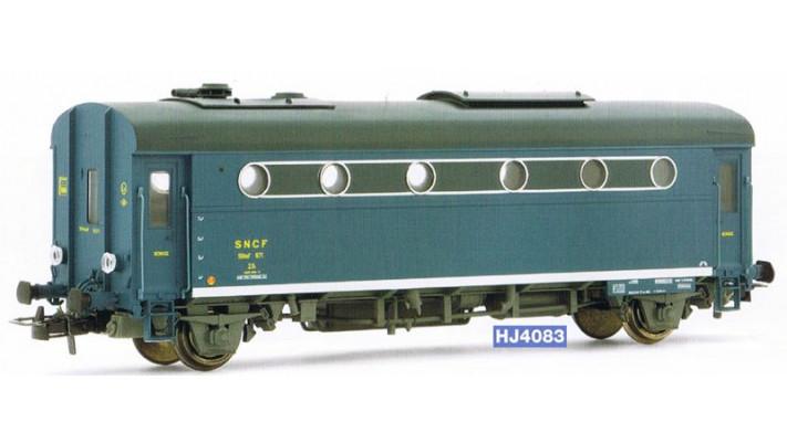 Fourgon chaudière 1300 kg, époque III, SNCF #
