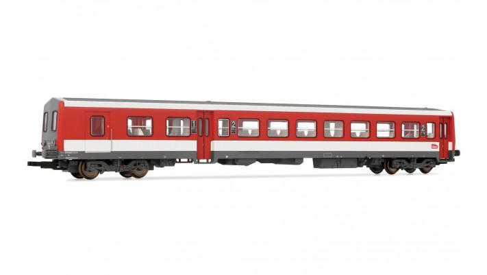 Remorque d'autorail XR6254 Livrée Rouge et Blanc Logo Carmillon SNCF é