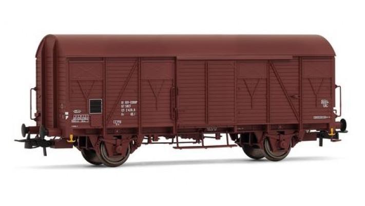 Wagon couvert G4 à frises, époque IV, SNCF