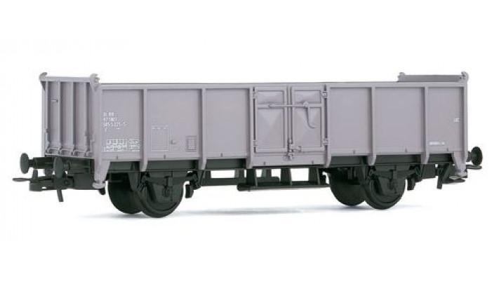 Wagon plat gris