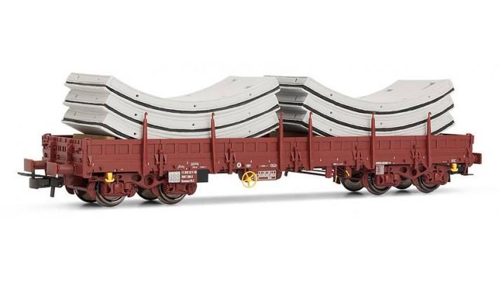 Wagon plat Remms avec chargement de voussoirs