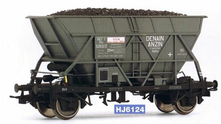 Wagon trémie EF30   Denin Anzin  , époque III