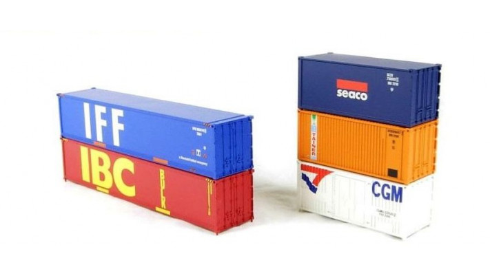 Set of 5 containers