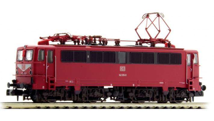 Electric locomotive class 142, DBAG, period V, livery orientred (142 0