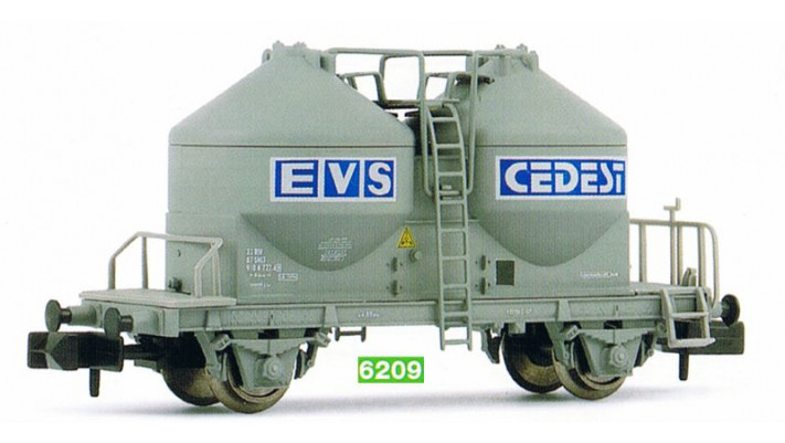 Wagon silo pour pulve?rulents EVS C