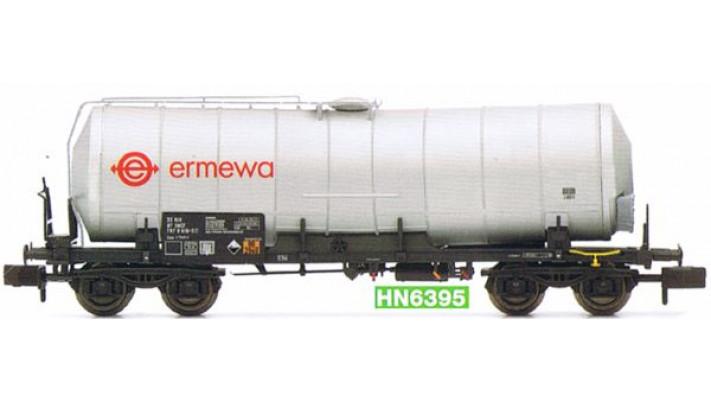 SNCF, 4-axle isolated tank wagon, grey  ,  ermewa , period V-VI