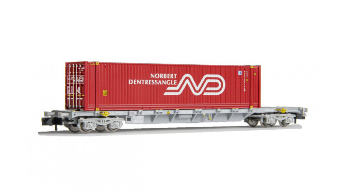 SNCF, wagon porte container