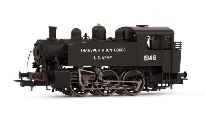 Locomotive à vapeur S100 US Army Transportation corp.
