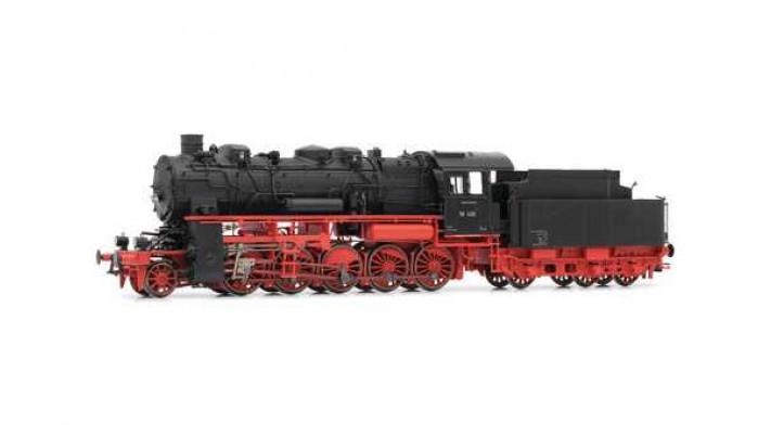 DB, BR 58 steam locomotive, three-dome version
