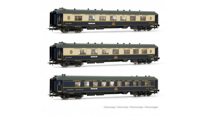CIWL, 3-unit set of coaches forthe Treno Azzurro