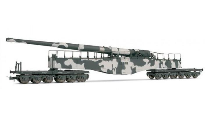 Wagon d'artillerie lourde DRB Camouflage d'hiver