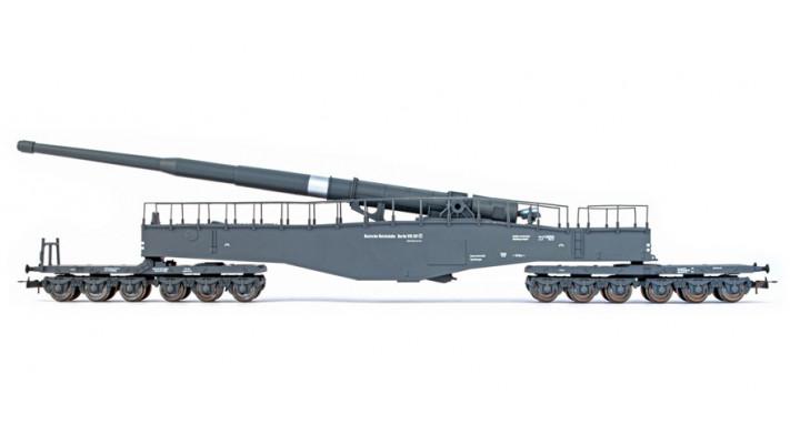 wagon canon leopold camouflé