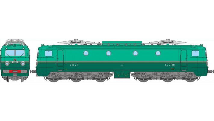 CC-7120  SO Paris SO - AC Sonorisé (3 Rails)