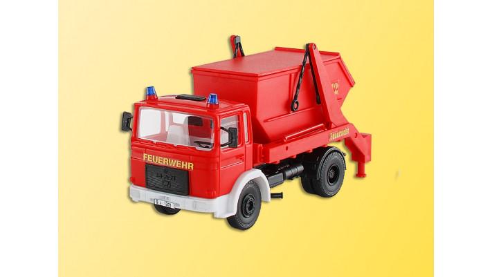 H0 Feuerwehr MAN 2achs m.Abs.