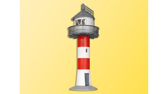 H0 Leuchtturm an der Elbe