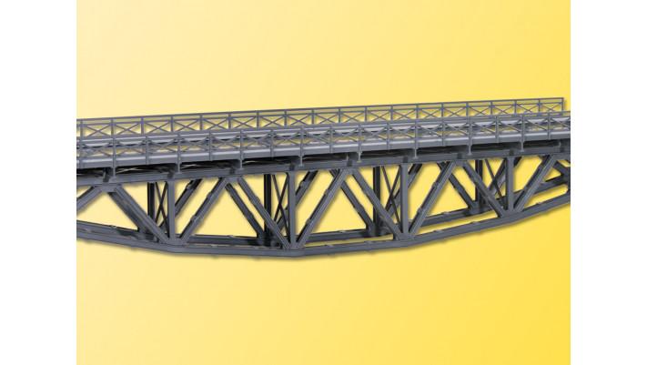 H0 Stahl-Unterzugbruecke eing