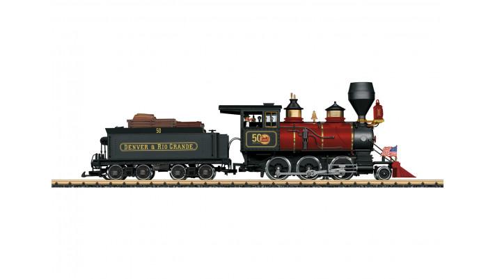 Locomotive à vapeur D&RGW Mogul