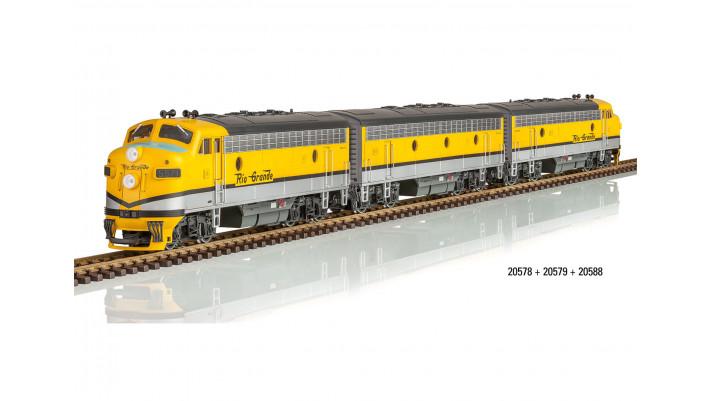 DRGW Diesellok F7 A