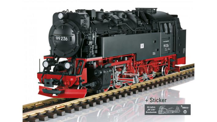 Dampflokomotive 99 236 HSB - automne20