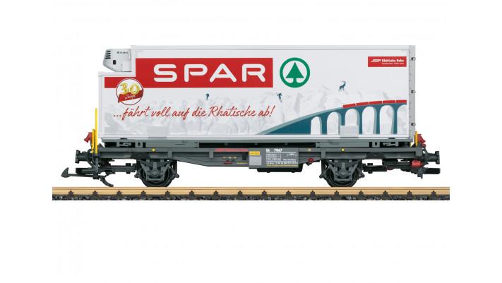 RhB Containerwagen  Spar  - automne20
