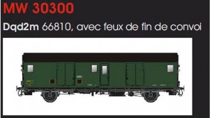 FOURGON METALLISE EX MIDI SNCF - FEUX DE FIN DE CONVOI/IIIb