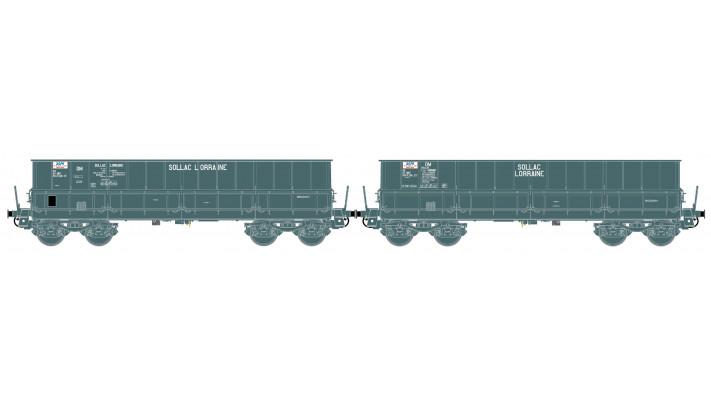 SNCF wagenset DM 2tlg. Ep.IV-V  sollac