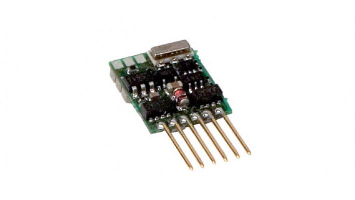 N  Silver mini 0,5 / 0,8A, SUSI-plug, NEM 651