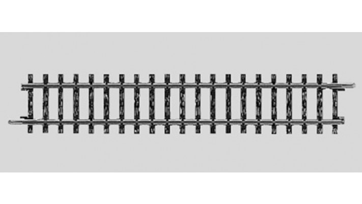 Rail droit 156 mm