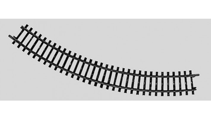 Rail courbe  r295,4 mm, 45 Gr.